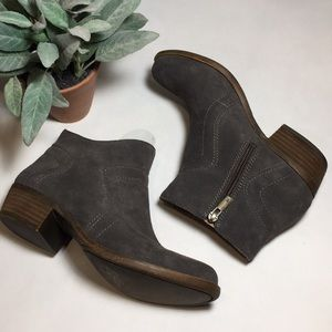 Lucky Brand Brolley Suede Bootie Size 6.5